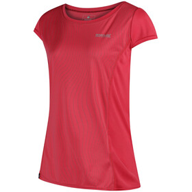 Regatta Hyper-Reflective Camiseta manga corta Mujer, bright blush/bright blush reflective